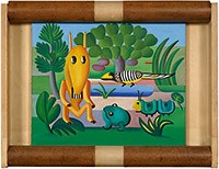 Tarsila do Amaral, A Cuca, 1924